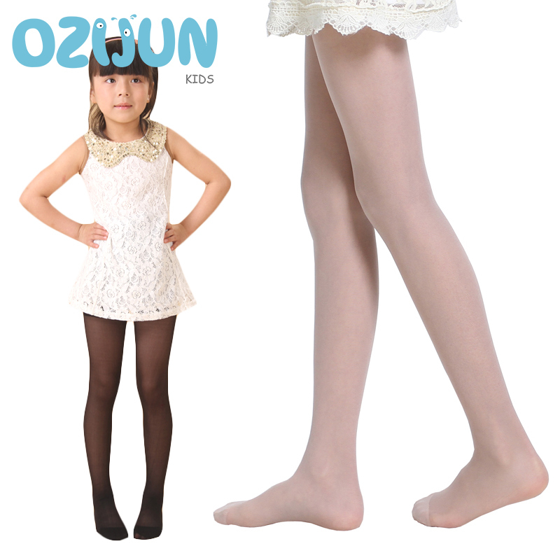 High Quality Children Girls Cover Yarn Sheer Silk Pantyhose Summer Tights Dance Stockings For Baby Girls Kids Thin