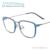 Los Marcos De Plástico Gafas Gafas Graduadas de Metal ligero Cuadrados Borde Completo Marcos De Multifocales Lentes Miopía gafas de Lectura