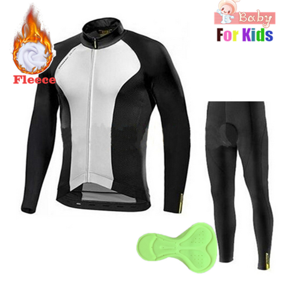 Bora Winter Thermal Fleece Cycling Set Kids Bike Clothes MTB Bicycle Clothing Cycling Jersey Set Maillot Ropa Ciclismo Invierno veobike 2018 pro team summer big cycling set mtb bike clothing racing bicycle clothes maillot ropa ciclismo cycling jersey sets