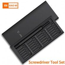 Xiaomi Mijia Wiha 24 В 1 Точная отвертка комплект 60HRC магнитные биты дома Ремкомплект, инструменты мини коробки для инструментов черный