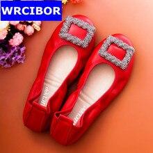 2017 Women Genuine Leather Flats Shoes Woman Flat Women Shoes Loafers 2017 Shoes Women Flat Heel Rubber Fashion Flats