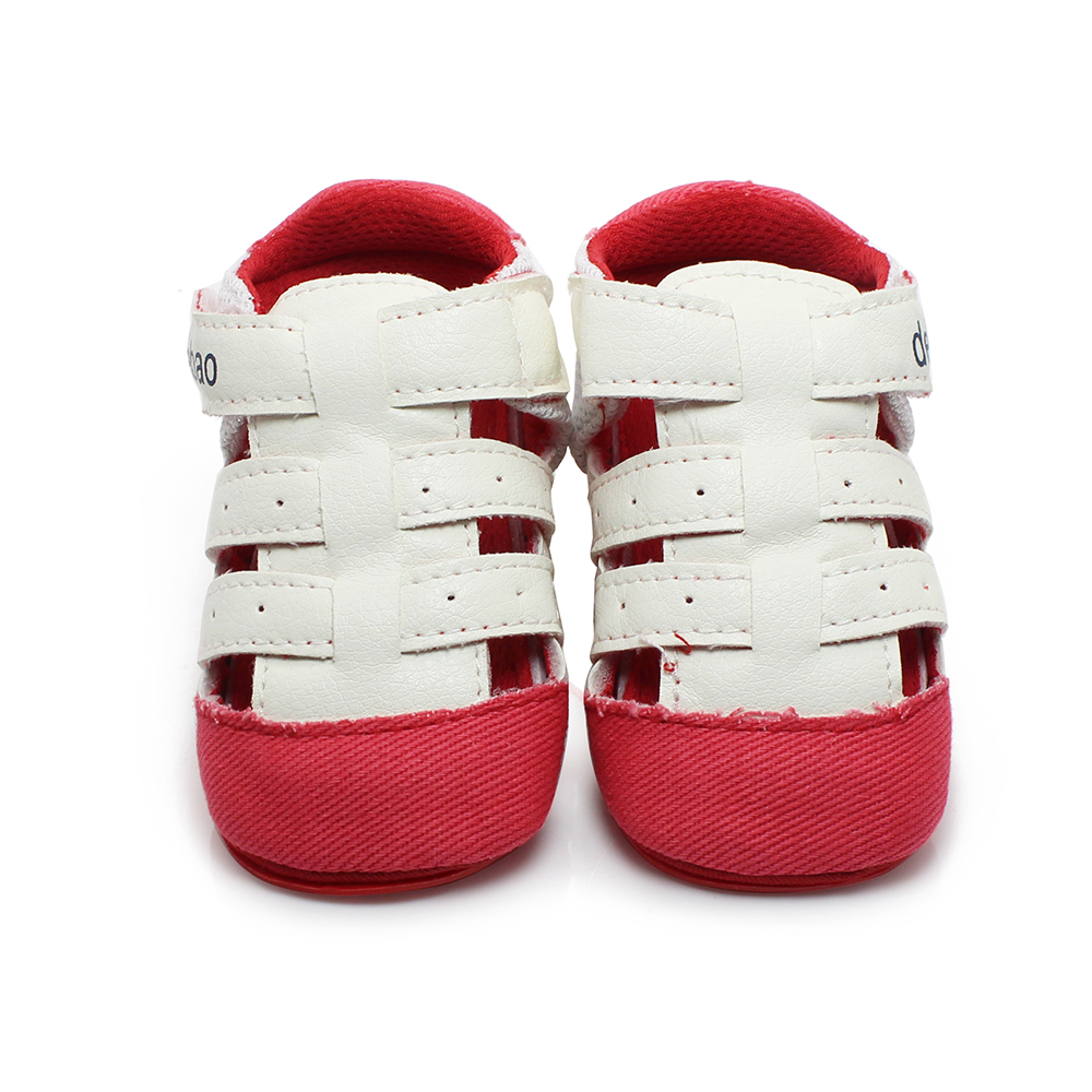 2019 New Design Baby Sandals Green Stripe Summer Sandals For (0-18) Months Baby Shoes