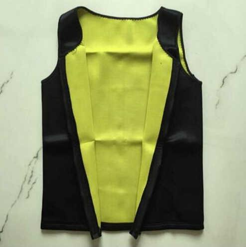 6be7ccce756 ... New Hot Mens Sweat Neoprene Body Shapers Zipper Vest Tops Slimming  Fitness Weight Loss Shapewears Plus