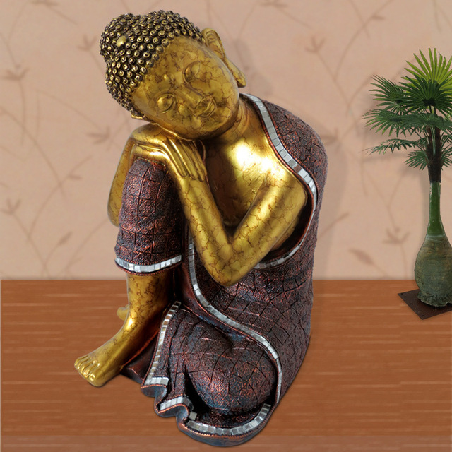 Sleeping Buddha Statue Thailand Factory Direct Resin Ornaments