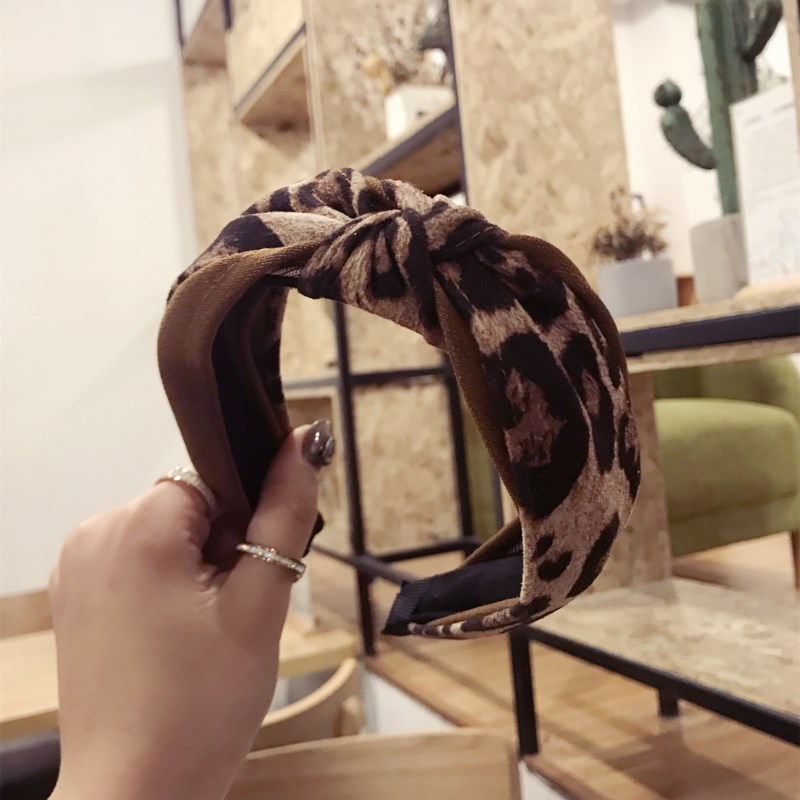 Apparel Accessories Korea Bead Pearl Yarn Middle Knotted Hairbands Solid Hair Accessories Hairband Crown Headbands For Girls Hair Bows