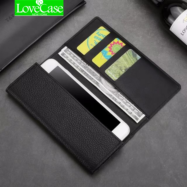 LoveCase S9 Plus Real Genuine Leather Phone Bag Case For Samsung S9 S8 Plus note8 S7dege Cell Phone Wallet Flip Cover Cases