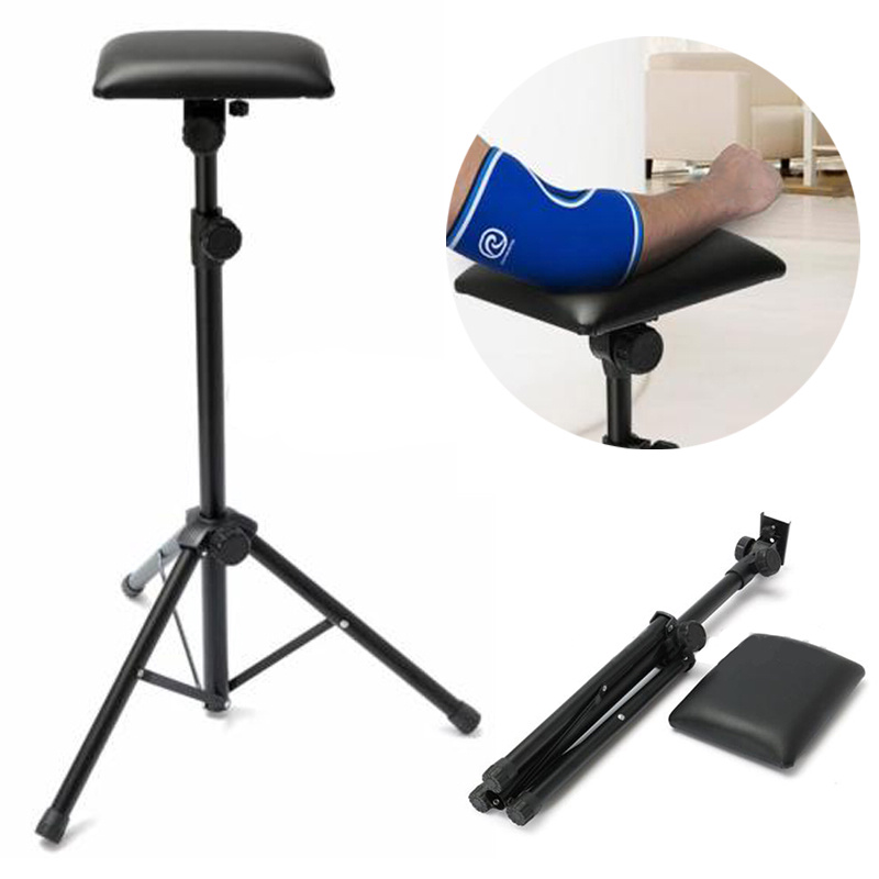 1pc Portable Tattoo Arm Leg Rest Black Adjustable Tattoo Tripod Stand For Home Tattoo Accessories
