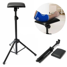1pc Portable Tattoo Arm Leg Rest Black Adjustable Tripod Stand For Home Accessories