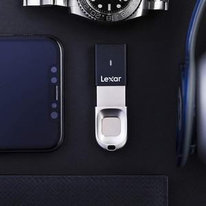 Image 5 - 100% Original Lexar USB 3.0 stick Fingerprint anerkennung stick 32GB F35 150 MB/S cle usb stick Memory stick pen stick