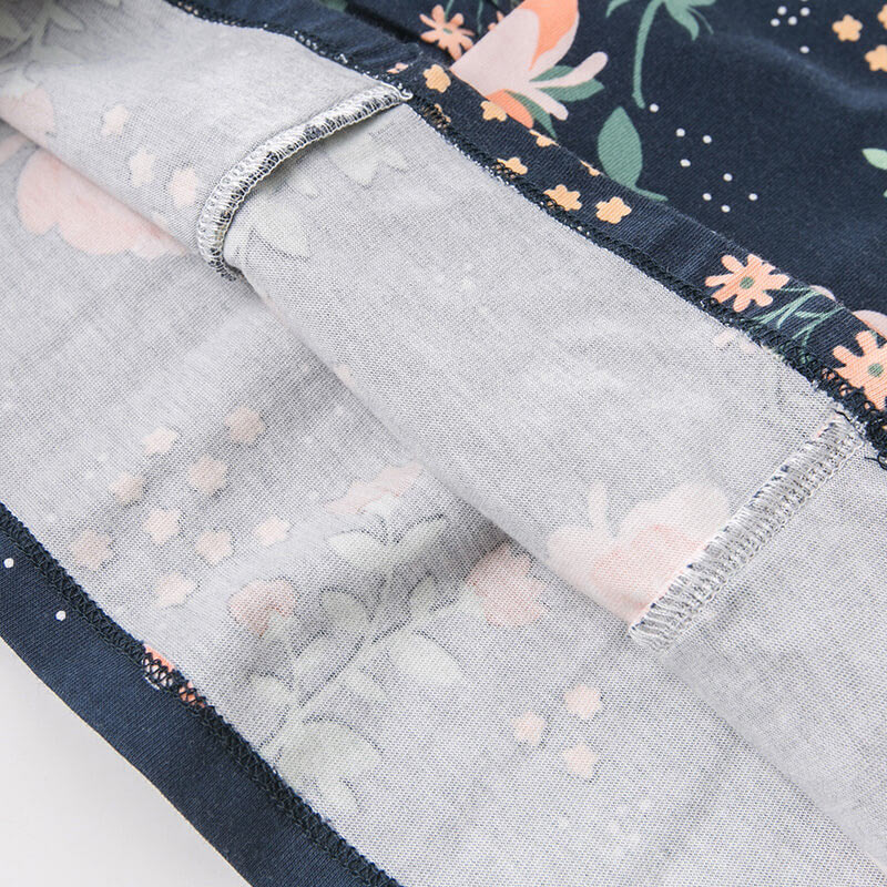 DBA7979 dave bella autumn infant toddler baby girls floral clothes kids long sleeve clothing sets children 2 pcs suit