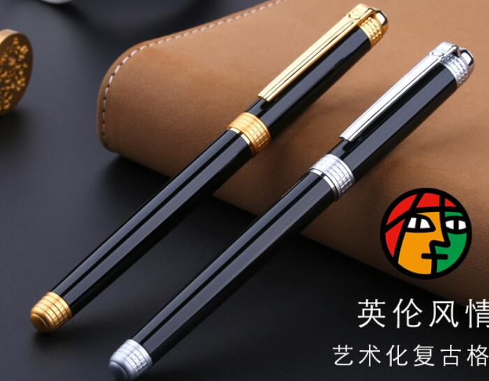 цены High quality 0.5MM Nib Fountain pen Full metal Golden Clip luxury pens PICASSO Caneta Stationery Office school supplies