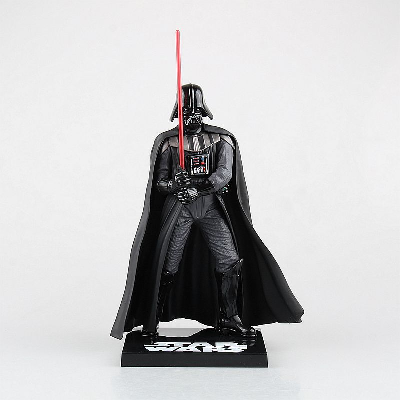 Crazy Toys Star Wars Darth Vader PVC Action Figure Collectible Model Toy 820cm RETAIL BOX  zy058 new 1pc darth vader 10cm baby kids childs action figure toy loose xmas