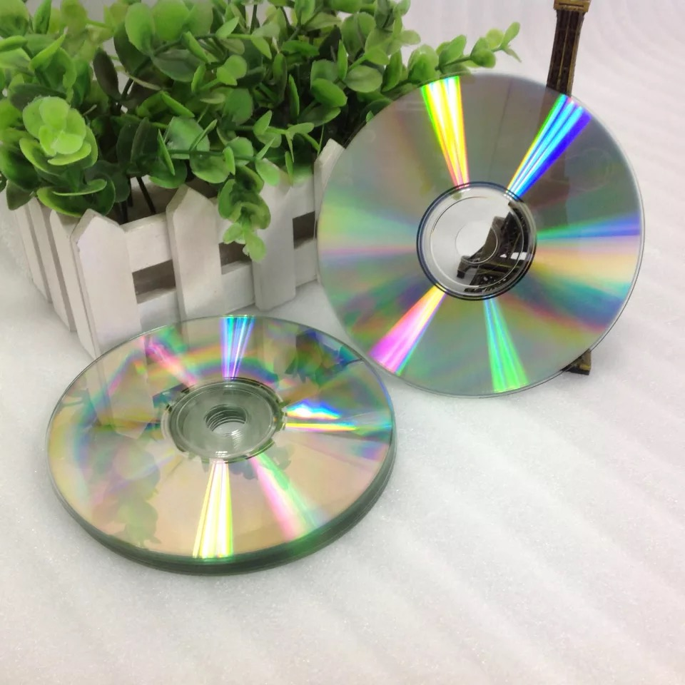 Wholesale 10 Discs Silver Back Printable Surface 700 MB 52x CD-R Discs