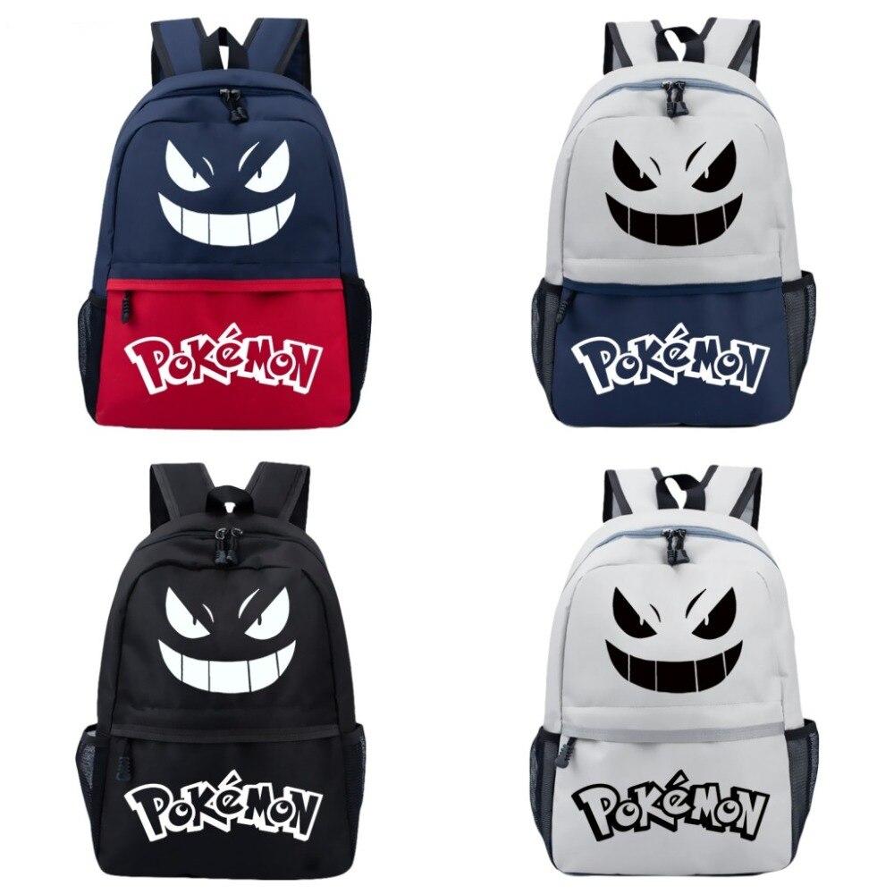 Mode sac à dos Anime Pokemon Cosplay cartable adolescent étudiant sac d'école décontracté voyage randonnée sac à dos Anime sac COOL
