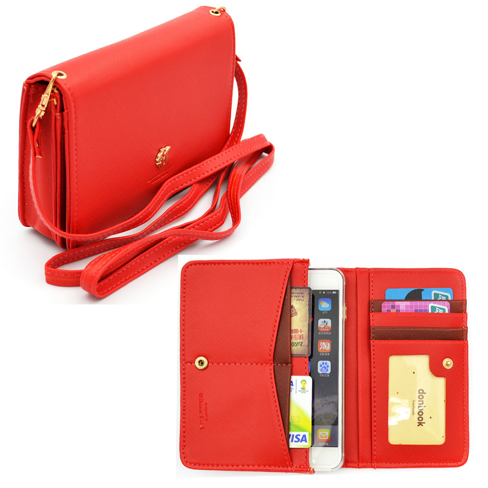 Mini Wallet Cellphone Bag Passport Case Id Holder Credit Card Pouch Crossbody Shoulder In Bags From Luggage On