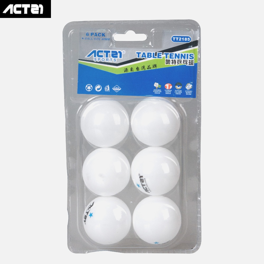 2018 HOT TT2185 ACTEI TP Card PingPong Ball White One Star Professional Table Tennis Ball Competition Ball
