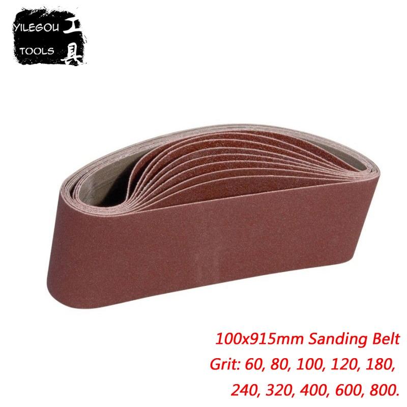 5 Pieces 100mm*915mm Sanding Belt 4