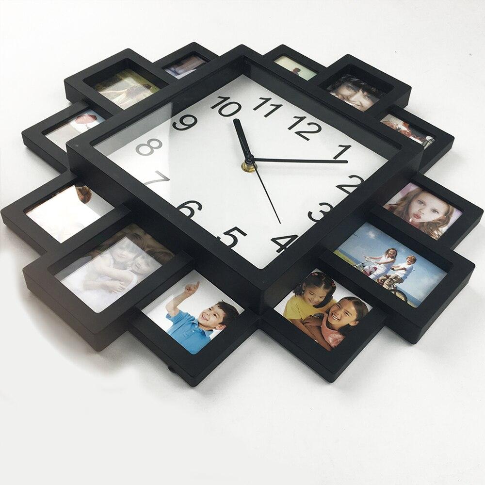 DIY Ρολόι Κορνίζα 2019 Νέο Ρολόι Τοίχου DIY - Διακόσμηση σπιτιού - Φωτογραφία 3