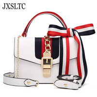 JXSLTC Crossbody Bags for Women Leather Luxury Handbags Women Bag Designer Ladies Hand Shoulder Bag Womens Messenger Bags 2018