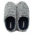 Oseen amantes zapatillas de algodón acolchado de invierno los hombres y Las Mujeres en casa de gran tamaño zapatillas térmicas antideslizantes