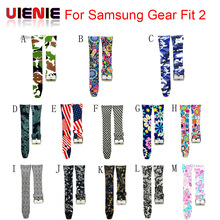 Fashion Watch band Luxury Replacement Silicone Watchbands For SAMSUNG GEAR Fit 2 Fit2 SM-R360 Bracelet Wristband Strap hot sale