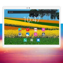 2019 New 10 inch tablet pc Android 7.0 Octa Core 4GB RAM 64GB ROM 1280*800 IPS 3G 4G FDD LTE Phablet GPS 10.1 Tablets 10 Gifts