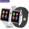 IWO 1:1 Smartwatch MTK2502C 42MM Bluetooth SmartWatch MP3 Player Pedometer Sleep Monitor Heart rate for Android iPhone
