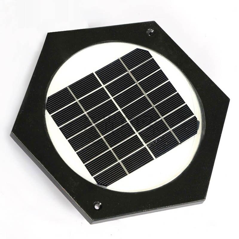 Большая вилла LED солнечной энергии открытый сад Лампы для мотоциклов путь Солнечный свет газон лампа литья Алюминий Стекло LED дворе солнечн... - 2