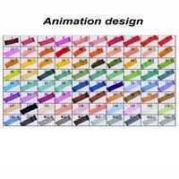 SOSW TOUCHFIVE 80x Marker Marker Pen Twin Tip Pen Black Animation Design