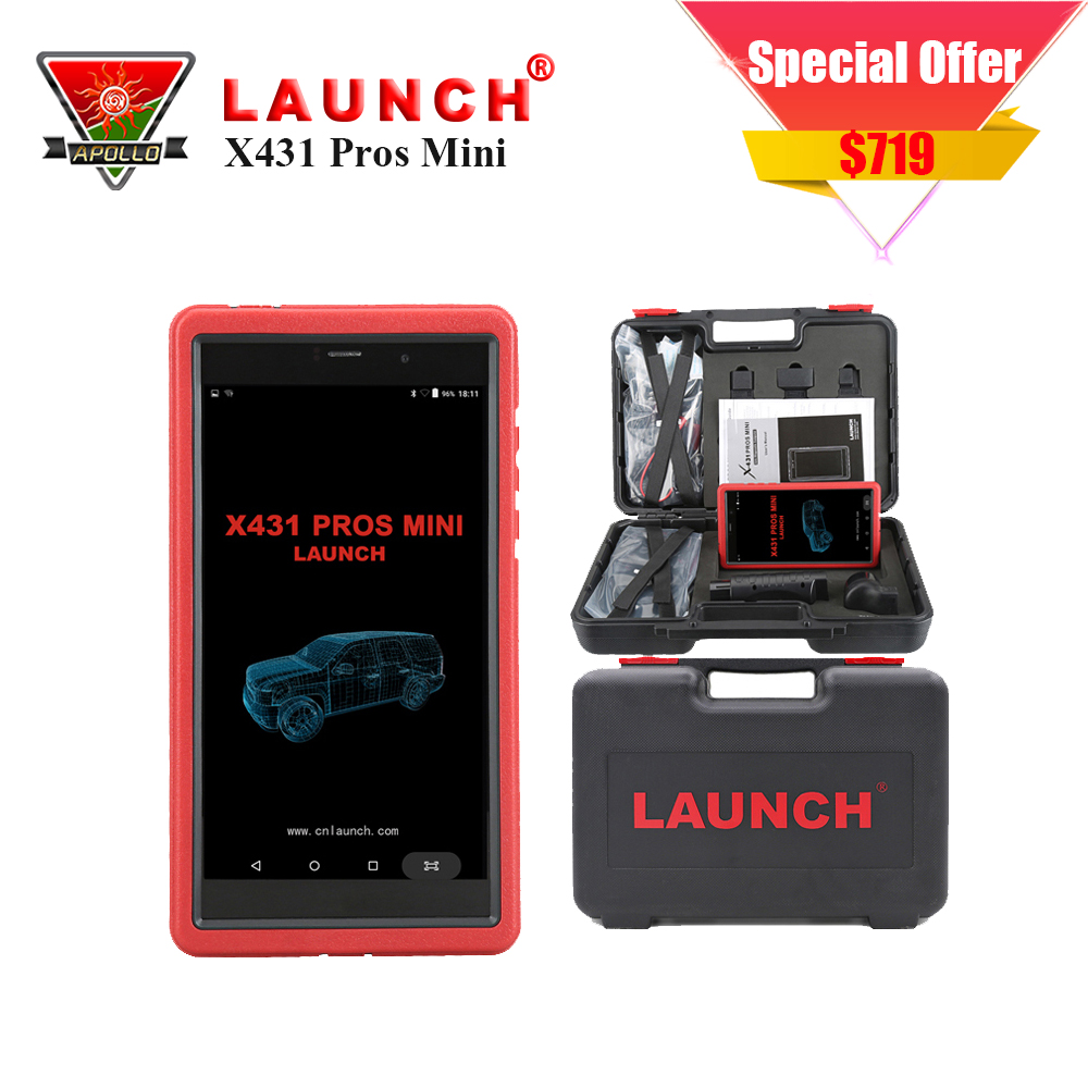 New Released Launch X431 PROS MINI Automotive Scanner Diagnotist Diagun IV 2 Years Free Update все цены