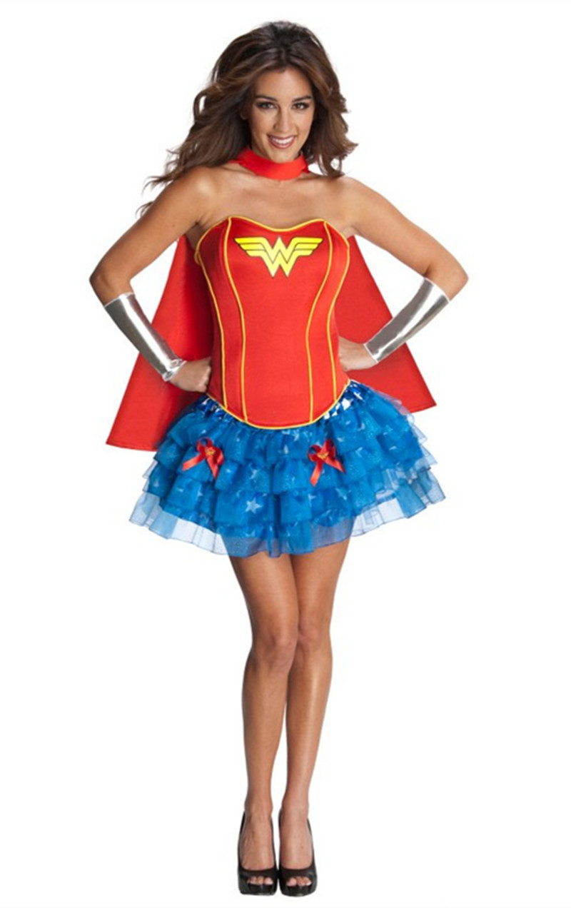 Sexy Plus Size Wonder Woman Costume