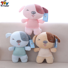 30cm Kawaii Plush Dog Puppy Toy Stuffed Dogs Animal Doll Baby Girl Boy Kids Children Birthday Promotional Gift Sleeping Toy 35cm luminous dog plush doll colorful led light glowing dogs kids toy children girls gift kawaii stuffed animal toy