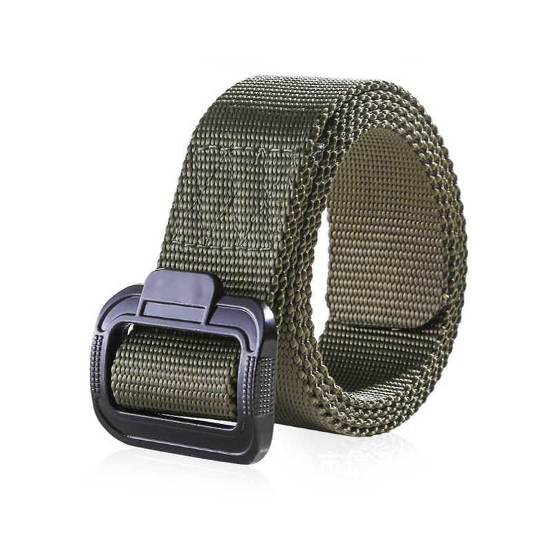 Army Tactical Nylon Degli Uomini Della Cinghia Militare di Combattimento Heavy Duty Cintura Cinturino Maschile Casual Cinghia di Vita Della Cinghia Tre Colori