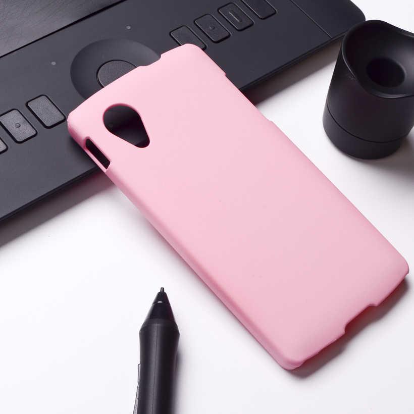AKABEILA מקרי כיסוי טלפון עבור LG Google Nexus 5 מקרה E980 D820 Nexus5 D821 דיור שקיות Utral אור פלסטיק פגז כיסוי אחורי