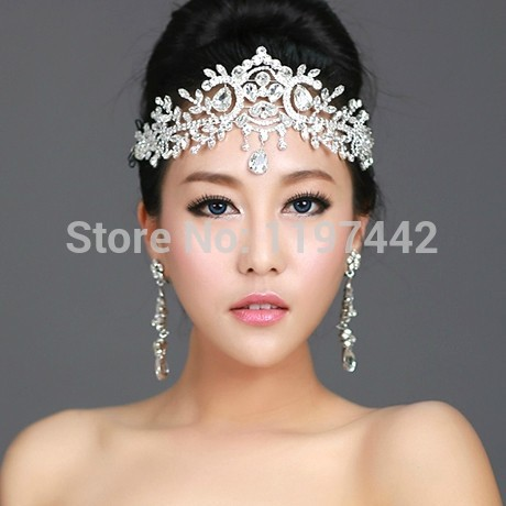 2018 hot sale bridal Hairbands Crystal Headbands women Hair