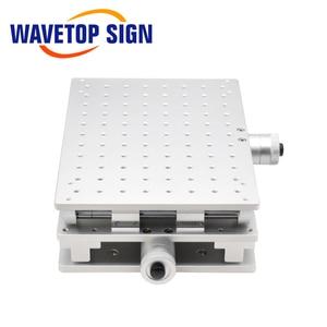 Image 2 - Wavetopsign 2D Werktafel Fiber Laser Merk Machine 2 As Bewegende Tafel 300*220*90Mm Xy Tafel