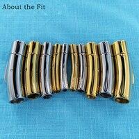 2 8 мм 100 наборы 316L нержавеющая сталь Концевая застежка пряжки DIY застежка для браслета или Подвески Разъем оптовая продажа для изготовления