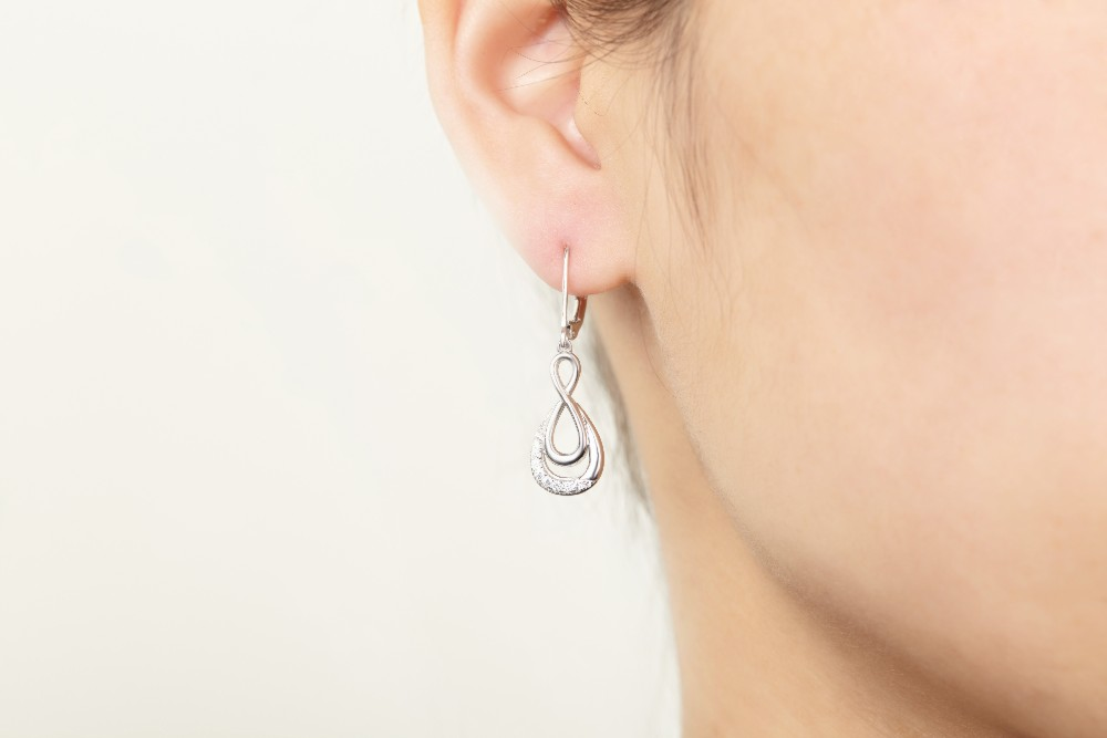 Real-925-Sterling-Silver-dangle-earring-for-women-Engagement-CZ-Diamond-for-Women-Wedding-Jewelry-making-100% (16)