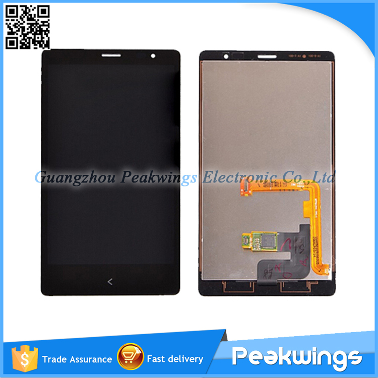 ФОТО TOP Quality LCD Display For Nokia Lumia X2 LCD Screen With Digitizer Panel Replacement Free Ship via DHL