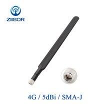 Antenne 4G LTE pour B315 B310 routeur externe à Gain élevé 5dBi WIFI Antena B593 E5186 pliable SMA mâle antenne Ziisor Z04 B4GSJ A