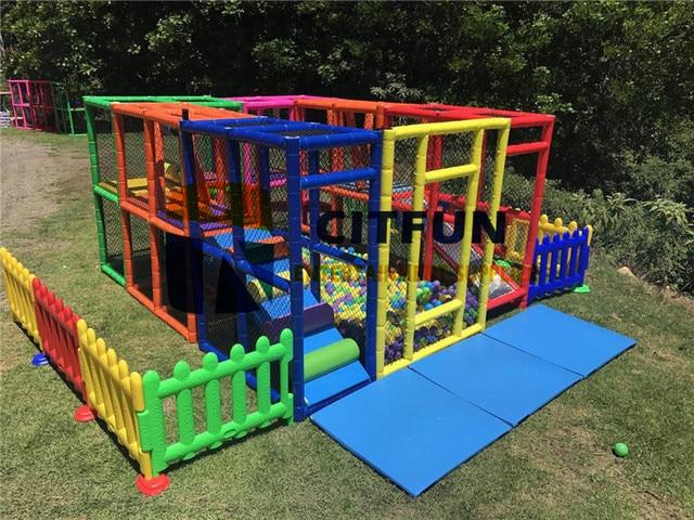 Neues Design Tragbare Indoor Spielplatz Für Mieten, Softplay Leihausrüstung  CIT MP002