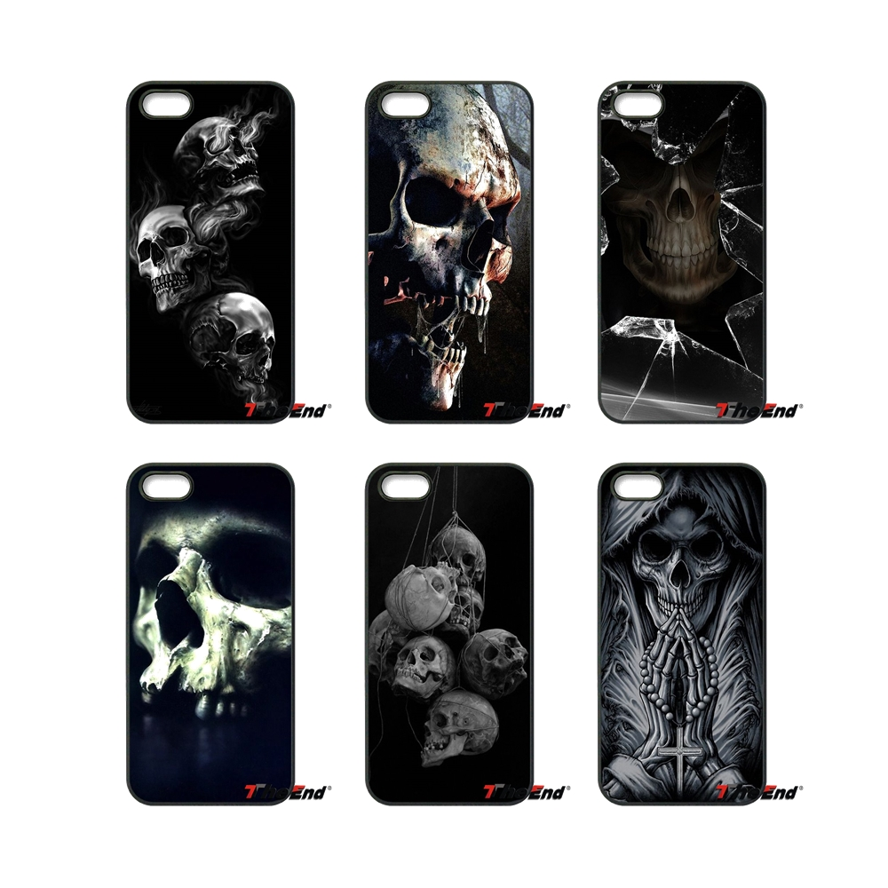 The Haunted Mansion Skull Pattern Cell Phone Case For HTC One M7 M8 M9 A9 Desire 626 816 820 830 Google Pixel XL One Plus X 2 3