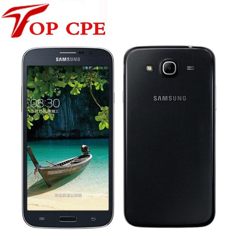 """Цена за Оригинальный samsung galaxy mega 5.8 i9152 сотовый телефон 5.8 """"Dual Core 1.5 ГБ RAM 8 ГБ ROM 8MP камеры Разблокирована восстановленное Мобильных телефонов"""