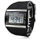 ✔  Модные цифровые часы мужские спортивные часы электронные светодиодные светящиеся наручные часы с сил ①