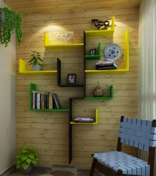 Shelf modelling shelf. The personality barrier wall hanging bookshelf setting wall decoration shelf