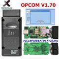OPCOM для Opel V1.70 с PIC18F458 FTDI FT232RL чип op-com OBD2 автоматический диагностический инструмент op com интерфейс can-шины OBD сканер
