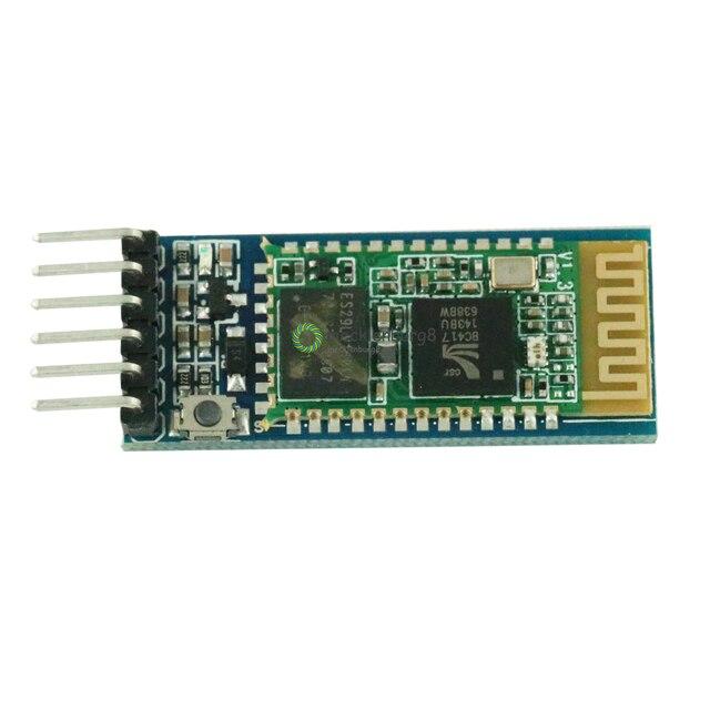 5 יח\חבילה HC05 HC 05 אדון ועבד 6Pin JY MCU אנטי הפוך רדיו תדר משדר Bluetooth אלחוטי מודול עם 3.3 V se