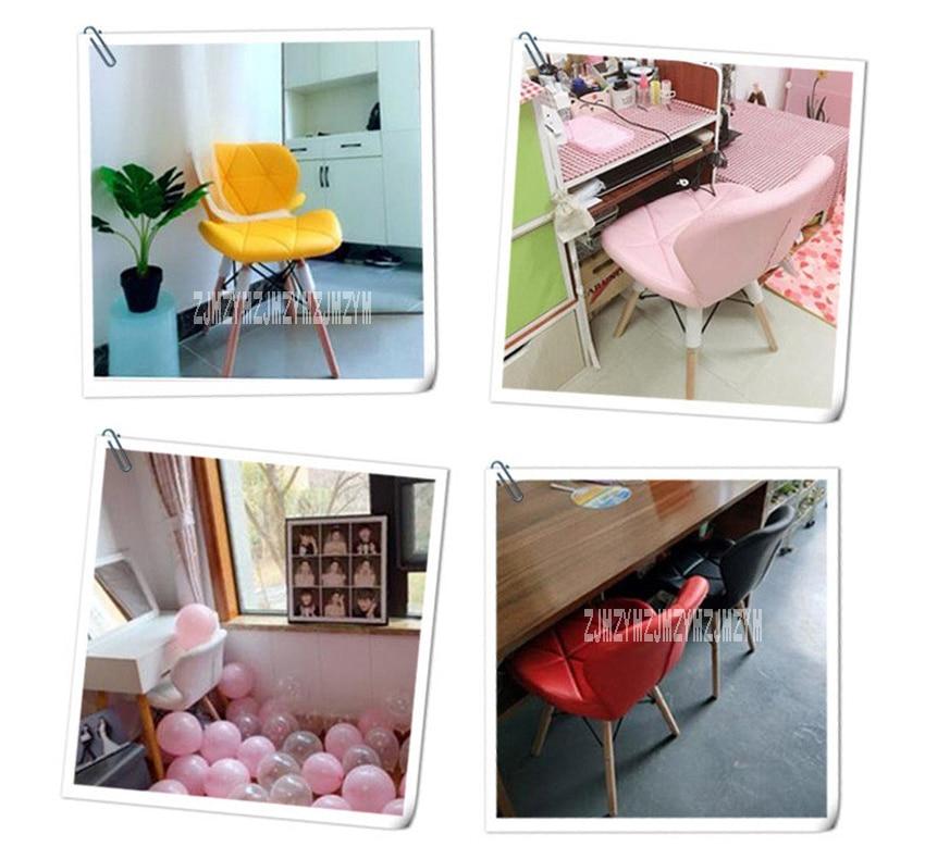 Деревянный стул для отдыха, современный креативный стул для гостиной, простой бытовой обеденный стул для кофе, офисное компьютерное кресло с спинкой