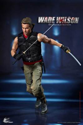 Deadpoo Hot Heart 1/6 FD003 Wade Warrior Wilson Movie Collectible Figure