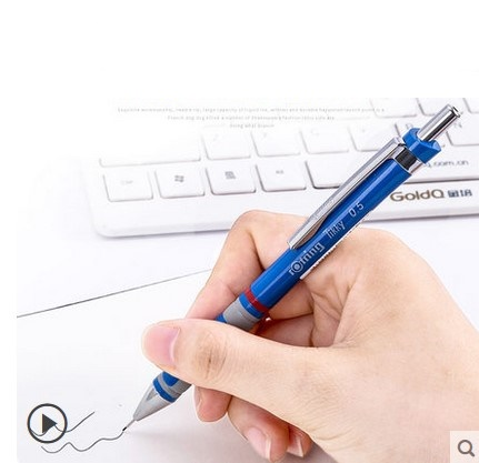 Rotring TIKKY II Ballpoint Pen BLACK New Blue ink